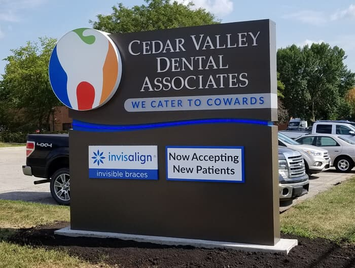 Cedar Valley Dental Monument