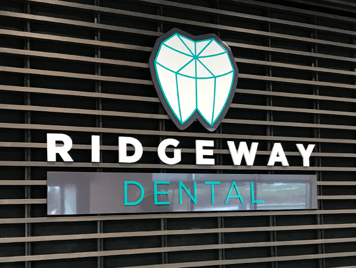 Ridgeway Dental Interior Sign