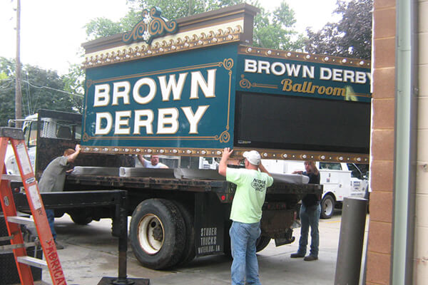 Install Brown Derby Loading