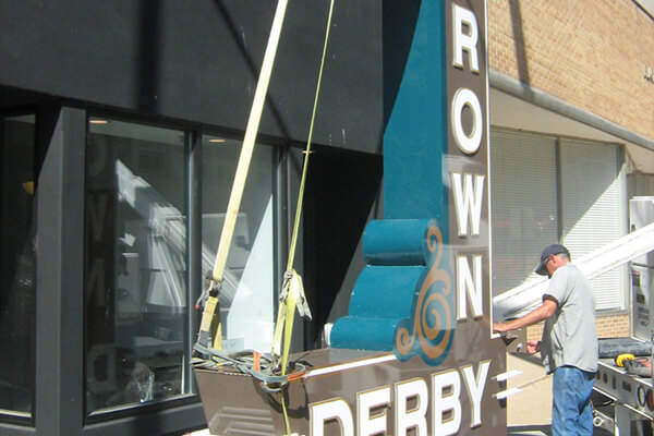 Install Brown Derby