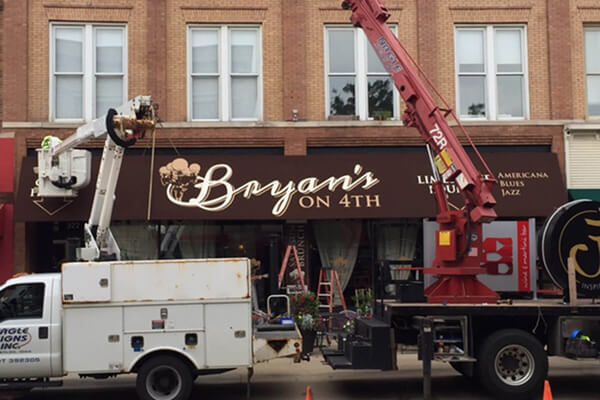 Install Bryan's on 4th