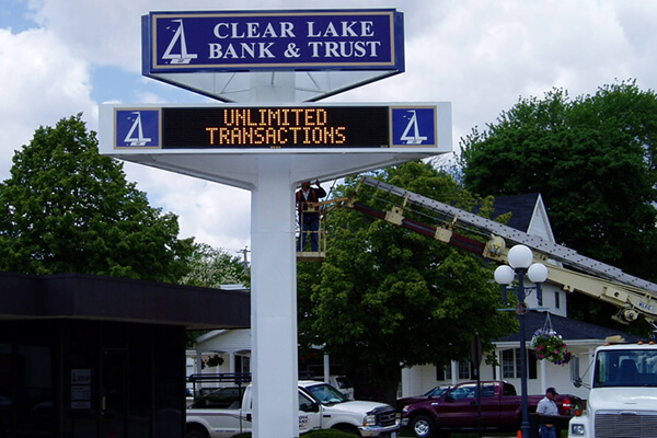 Install Clear Lake Bank