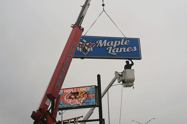 Install Maple Lanes