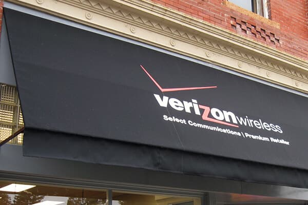 Awning Verizon Wireless