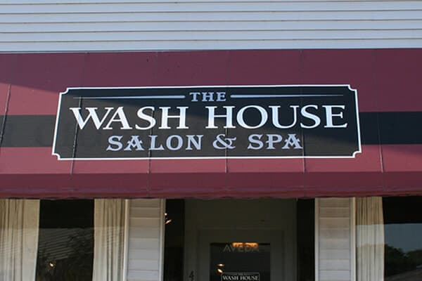 Awning Wash House