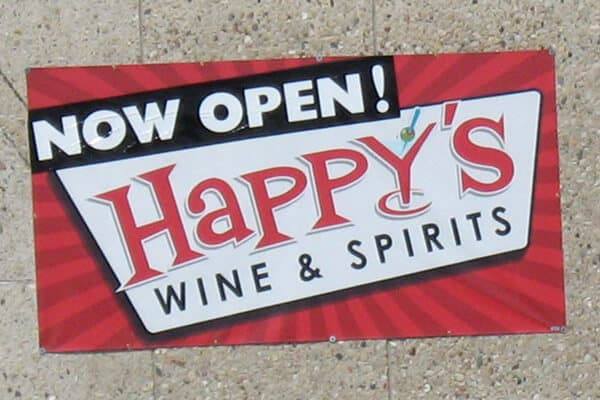 Banner Happy's Wine & Spirits