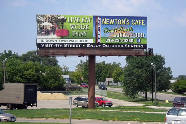 Downtown Waterloo, Newton's Cafe