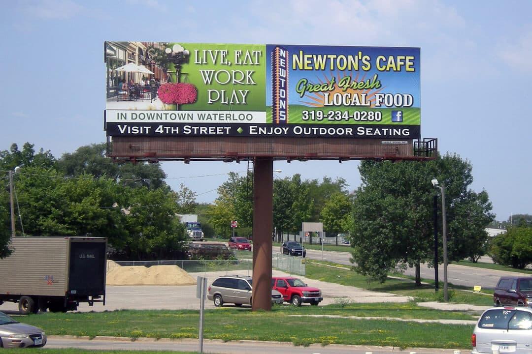 Newton S Cafe Menu