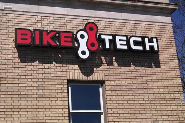Channel Letters Bike Tech