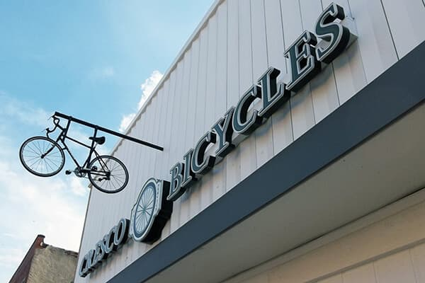 Channel Letters Cresco Bicycles