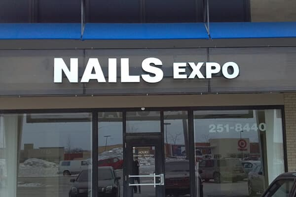 Channel Letters Nails Expo