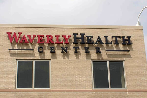 Channel Letters Waverly Health Center