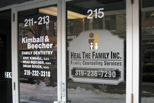 Exterior Vinyl Heal The Family