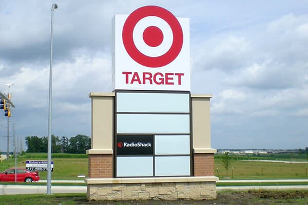 Monument Signs Target