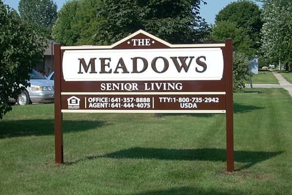 Post Signs The Meadows Senior Living