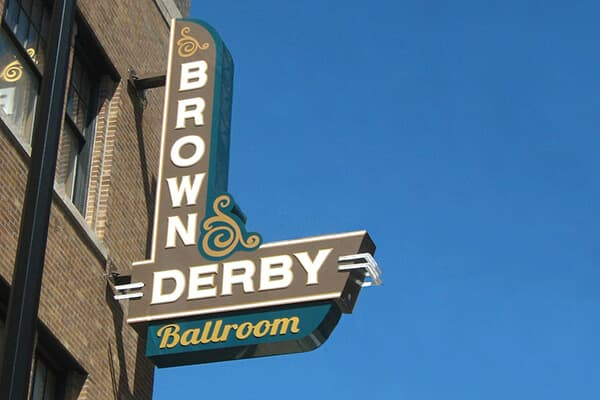 Projection Signs Brown Derby Ballroom