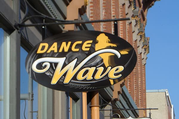 Projection Signs Dance Wave