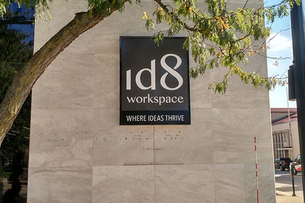 Wall Signs id8 Workspace