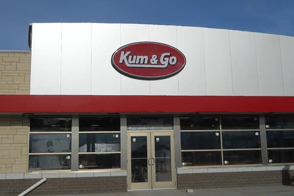 Wall Signs Kum & Go