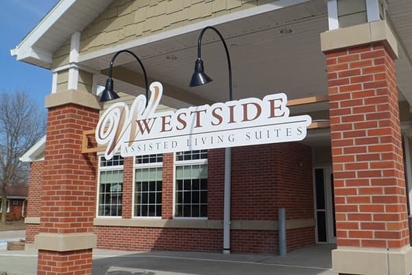 Wall Signs Westside Assisted Living