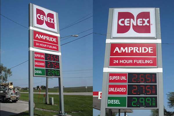 Cenex - Gas Price