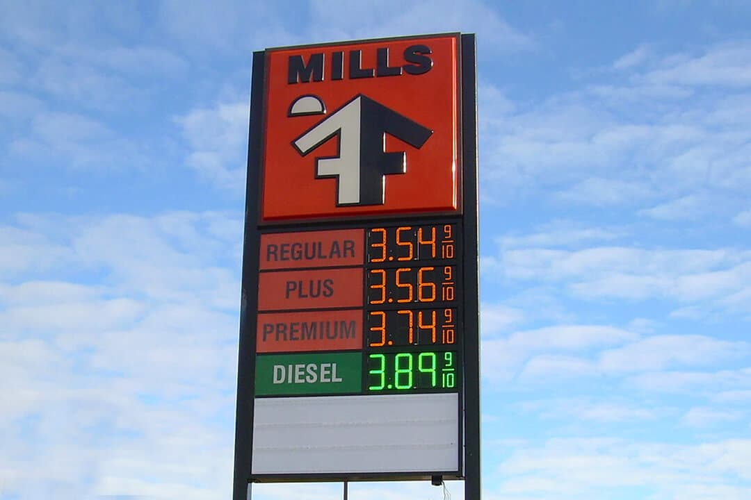 Gas Price Time Amp Temp Nagle Signs