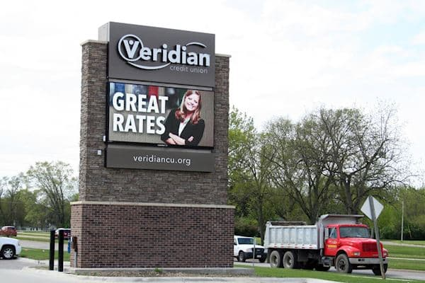 Veridian Credit Union - 12MM 144x288 Matrix
