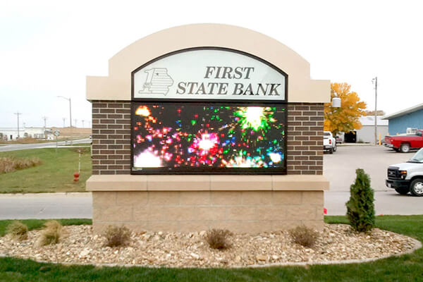 First State Bank - 16MM 48x120 Matrix