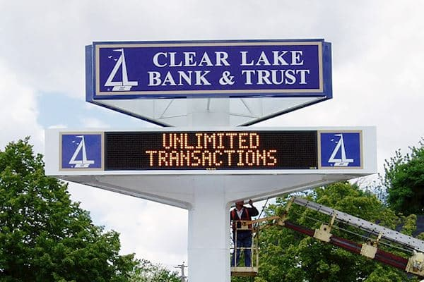 Clear Lake Bank & Trust - Monochrome Amber