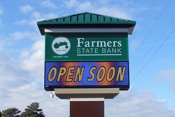 Farmers State Bank - 25mm 32x112 Matrix