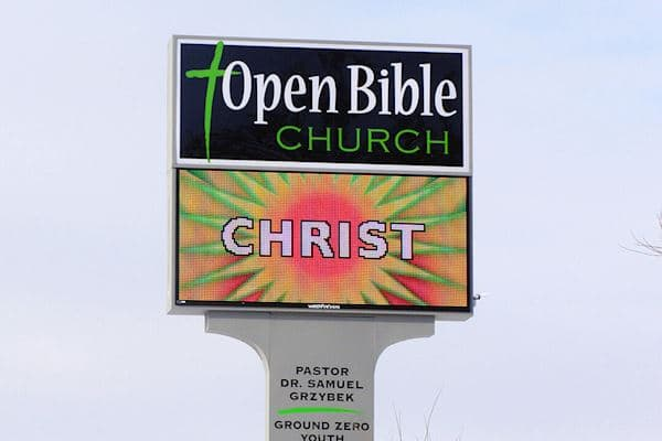 Open Bible Church - 25mm 72x160 Matrix