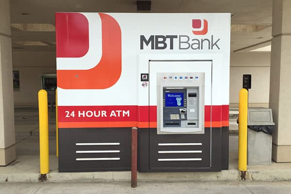 Banking\Financial MBT Bank ATM Wrap