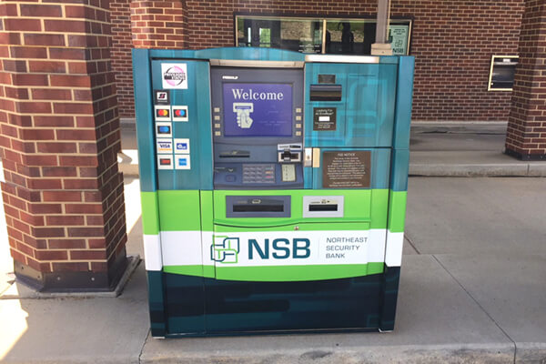 Banking\Financial NSB ATM Wrap Graphics