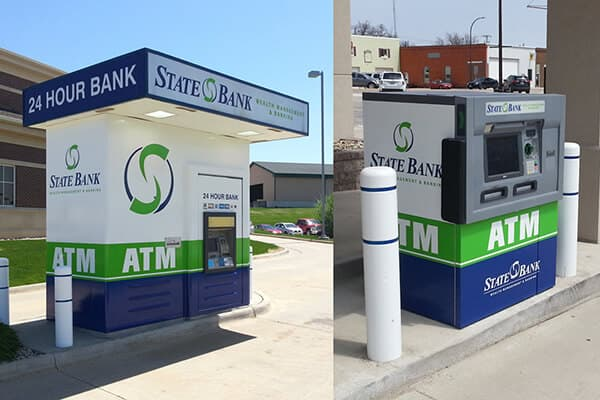 Banking\Financial State Bank ATM Wrap