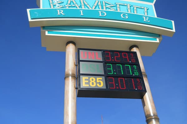 Convenience Stores Bamboo Ridge Fuel Displays