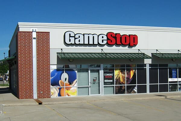 Corporate Game Stop Window Graphics
