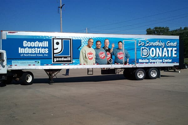 Corporate Goodwill Trailer Wrap
