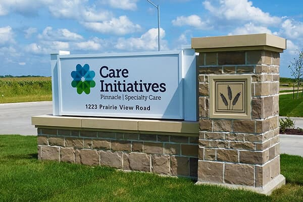 Healthcare Care Initiatives Monument Sign