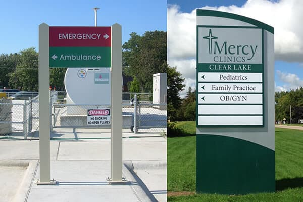 Healthcare Mercy Clinics Directional