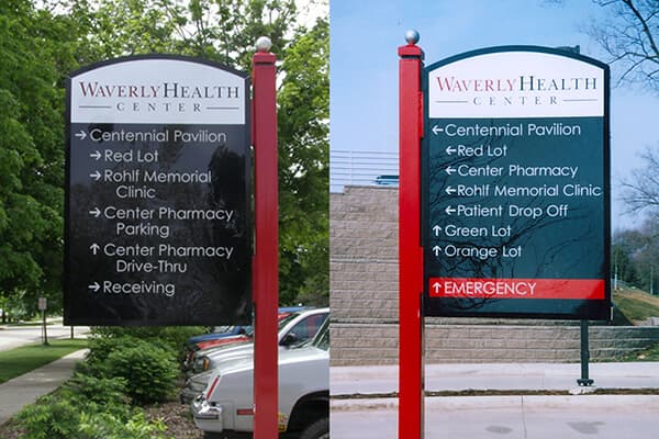 Healthcare Waverly Health Center Directionals