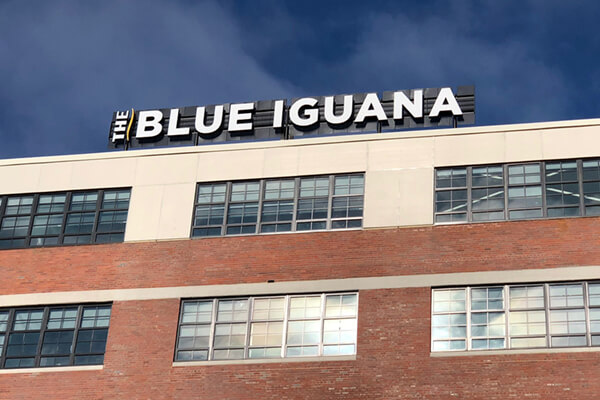 Restaurants Blue Iguana Channel Letters