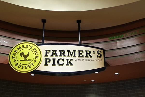 Restaurants & Bars Farmer's Pick Buffet