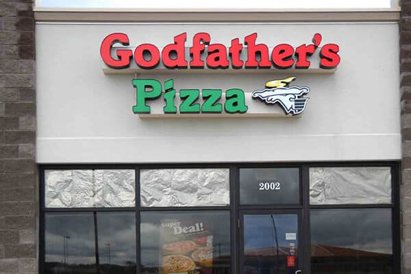 Restaurants & Bars Godfather's Pizza
