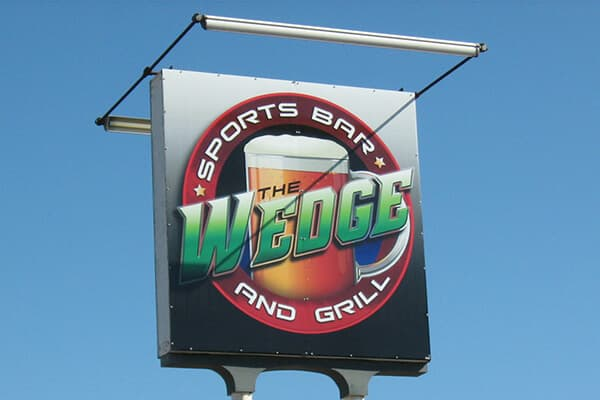 Restaurants & Bars Wedge Sports Bar