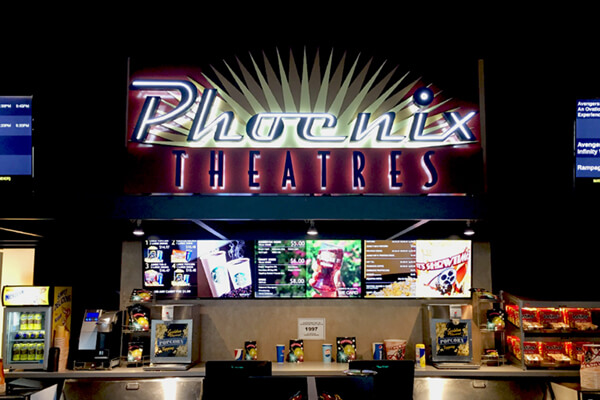 Custom Interior Phoenix Theatres