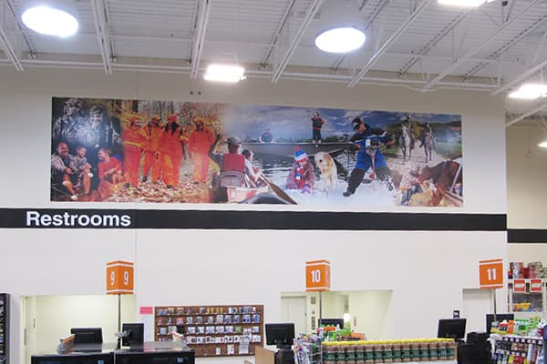 Interior Printed Graphics Mills Fleet Farm