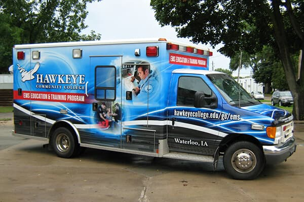 Full Wraps Hawkeye Ambulance