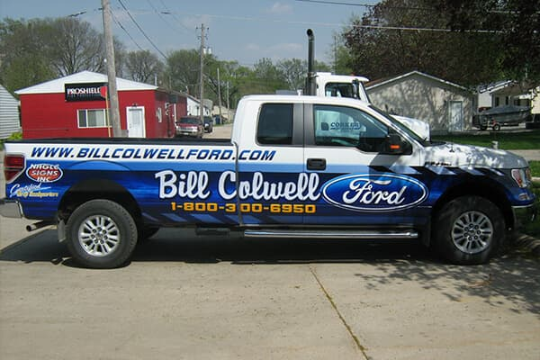 Bill Colwell Ford Partial Wrap