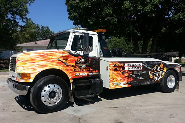 Partial Wraps Mid State Towing