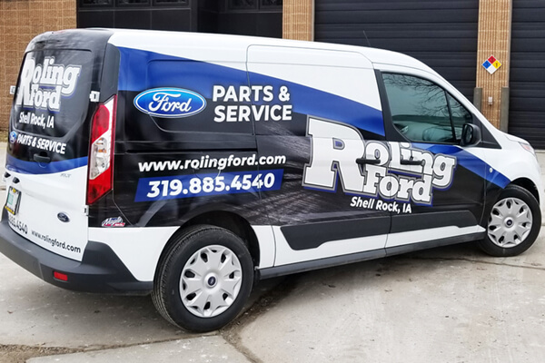 Roling Ford Partial Wrap
